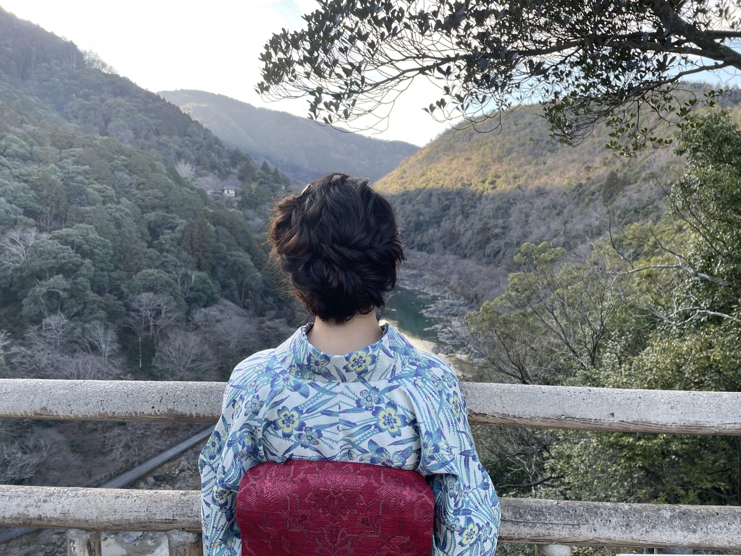 嵐山公園展望台⛰